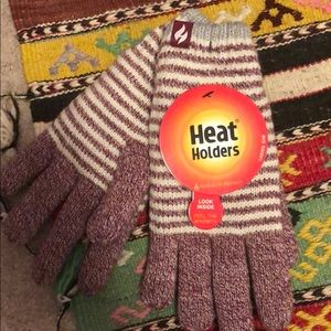 Heat Holders gloves (NWT)
